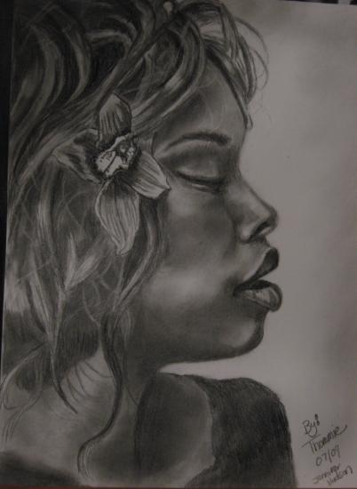 Jennifer Hudson par Thommie